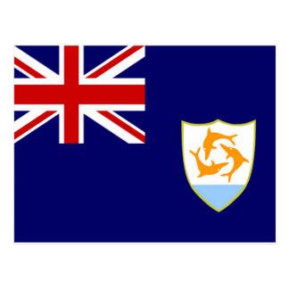 Anguilla Flag Postcard