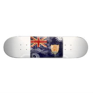 Anguilla Flag Skate Board Decks