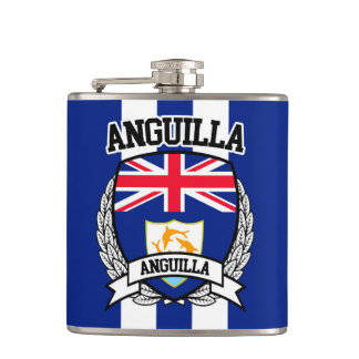 Anguilla Hip Flask