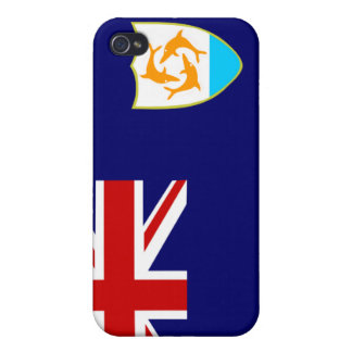 Anguilla National Nation Flag  iPhone 4 Cases