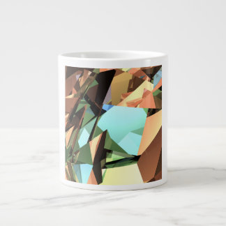 Angular Collage Jumbo Mug