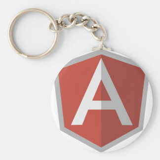 AngularJS Shield Logo Key Ring