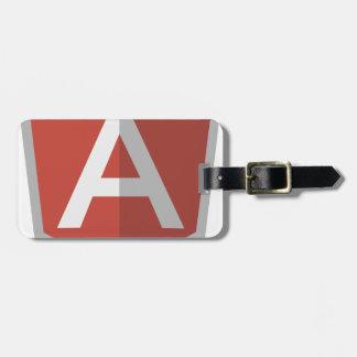 AngularJS Shield Logo Luggage Tag