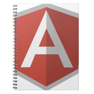 AngularJS Shield Logo Notebook