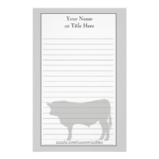 Angus Bull Stationery