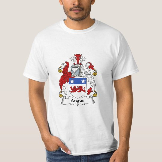 Angus Family Crest Angus Coat of Arms T-Shirt