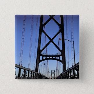 Angus L Macdonald Bridge, Halifax, Nova 15 Cm Square Badge