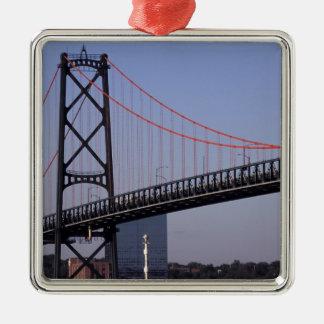 Angus L Macdonald Bridge, Halifax, Nova 2 Christmas Ornament