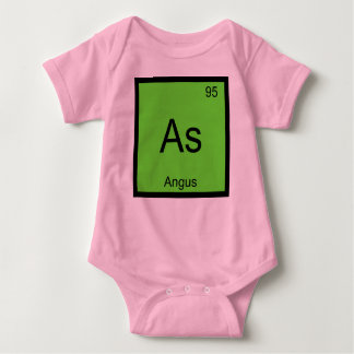 Angus Name Chemistry Element Periodic Table Baby Bodysuit