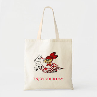 Angy Enjoy your day Budget Tote Bag