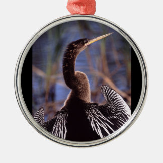 anhinga and wings christmas ornament