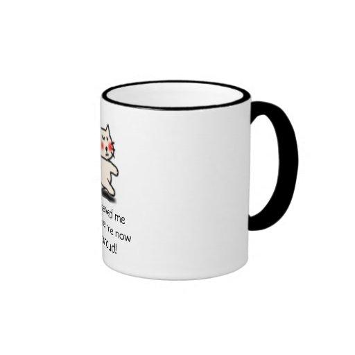 ani_walk_cat, They saved meThey love me nowI m'... Coffee Mug