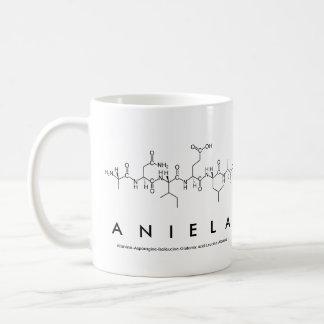 Aniela peptide name mug