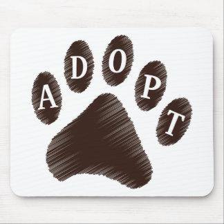 Animal Adoption Mouse Mat