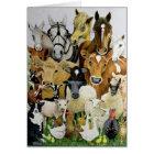 Animal Allsorts Card