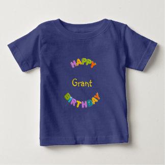 animal alphabet - birthday tee shirt