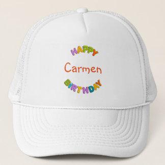 animal alphabet - birthday trucker hat