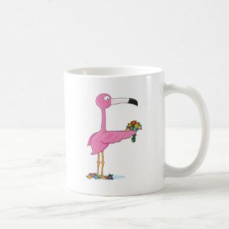 Animal Alphabet Flamingo Coffee Mug