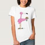 Animal Alphabet Flamingo Tshirt