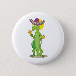 Animal Alphabet Iguana 6 Cm Round Badge