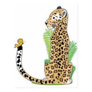 Animal Alphabet Jaguar Postcard