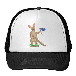 Animal Alphabet Kangaroo Cap