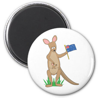 Animal Alphabet Kangaroo Magnet