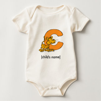 Animal Alphabet Kid's Onsie Baby Bodysuits