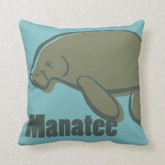 Animal Alphabet - Manatee Cushion