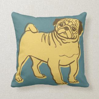 Animal Alphabet - Pug Cushion