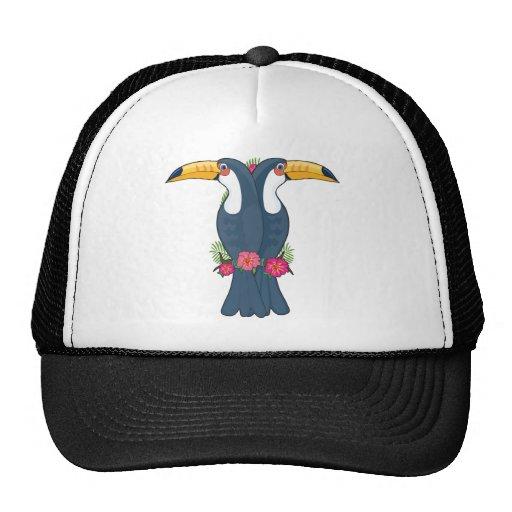 Animal Alphabet Toucan Hats