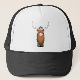 Animal Alphabet Yak Trucker Hat