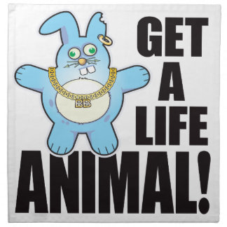 Animal Bad Bun Life Napkin