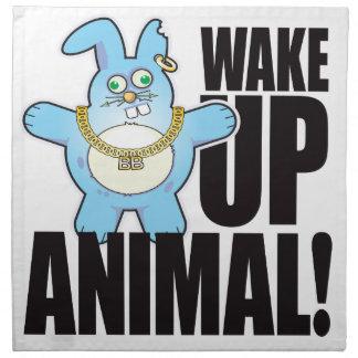 Animal Bad Bun Wake Napkin