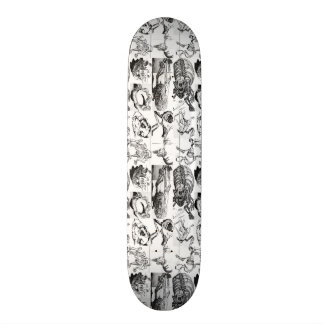 Animal Bones Pattern Skateboard
