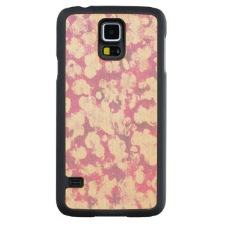 Animal Carved Maple Galaxy S5 Case