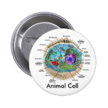 Animal Cell 6 Cm Round Badge