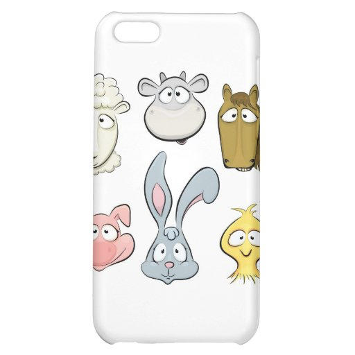 Animal characters. Farm animals design Cover For iPhone 5C