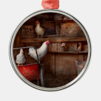 Animal - Chicken - The duck is a spy Christmas Ornament