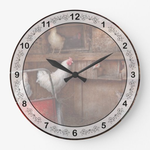 Animal - Chicken - The duck is a spy Wall Clock
