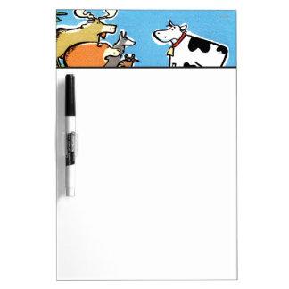 Animal Click Dry Erase Board