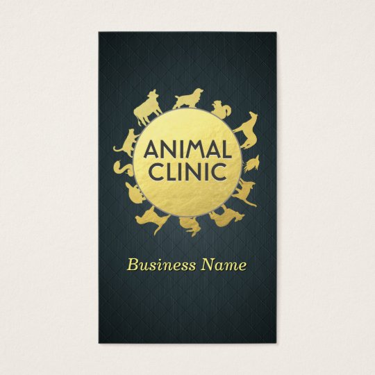 Animal Clinic Hospital Pet Care Sitter Gold Animal