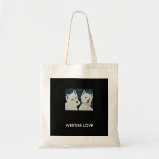 Animal Collection - Eco Reusable Bag Westies