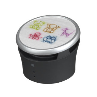 Animal Colors Bluetooth Speaker