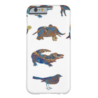 Animal Colors in Shapes Barely There iPhone 6 Case