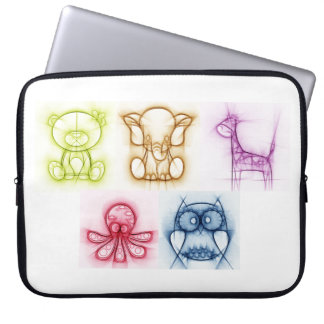 Animal Colors Laptop Computer Sleeves