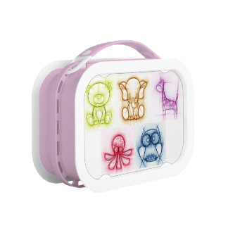 Animal Colors Lunch Box