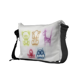 Animal Colors Messenger Bag
