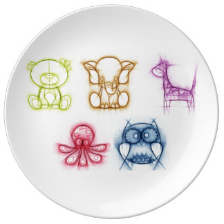 Animal Colors Plate