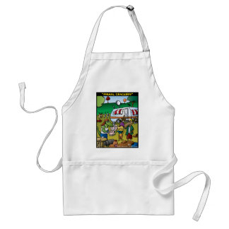 """Animal Crackers"" Standard Apron"